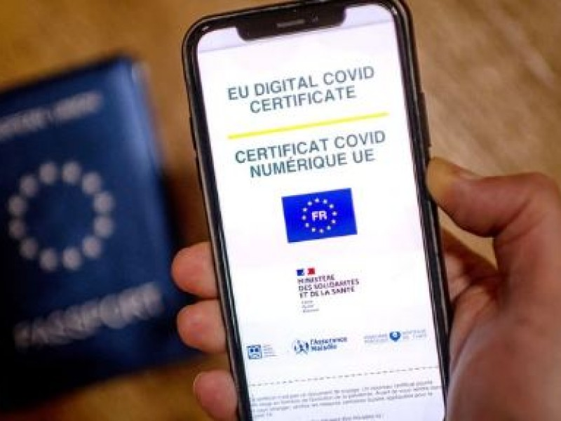 Pasaporte sanitario obligatorio en Francia