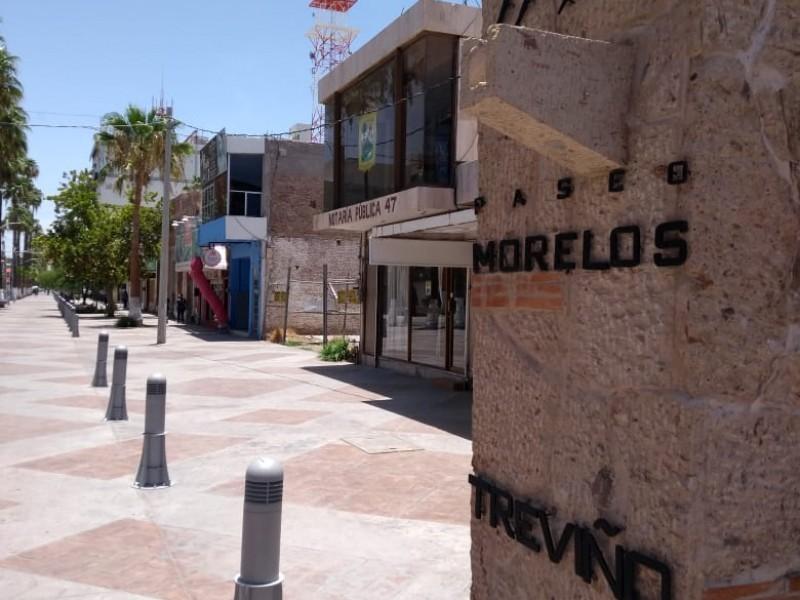Paseo Morelos sin estrategia contra impacto económico