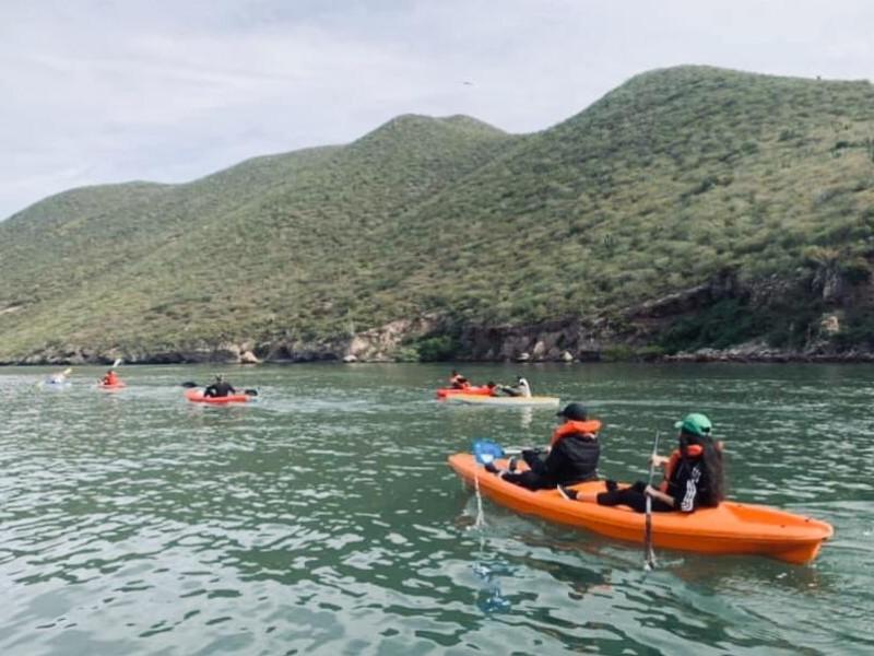 Paseos en Kayak toda una aventura en Topolobampo