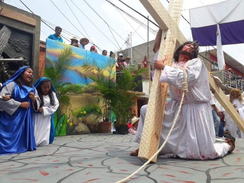 Pasión de Iztapalapa termina sin incidentes