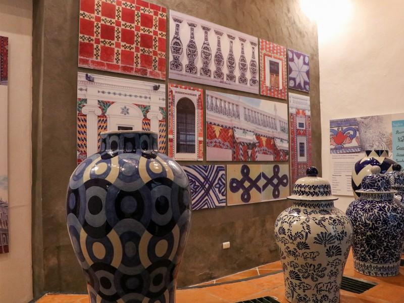 Patio de los Azulejos, primer museo de Talavera en Puebla