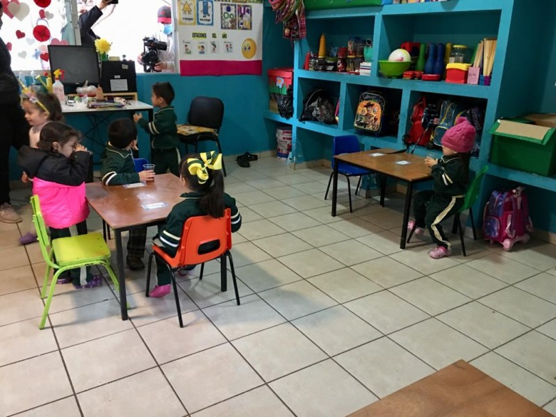 Patronato Pro educación retoma actividades con 50% de alumnos