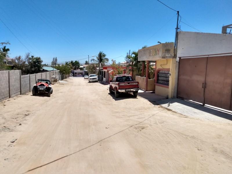 Pavimentación alumbrado son las necesidades  ciudadanas del distrito XII