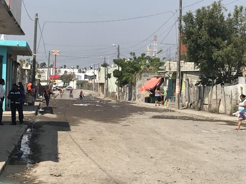 Pavimentarán con concreto hidráulico avenida Guacamaya en Veracruz