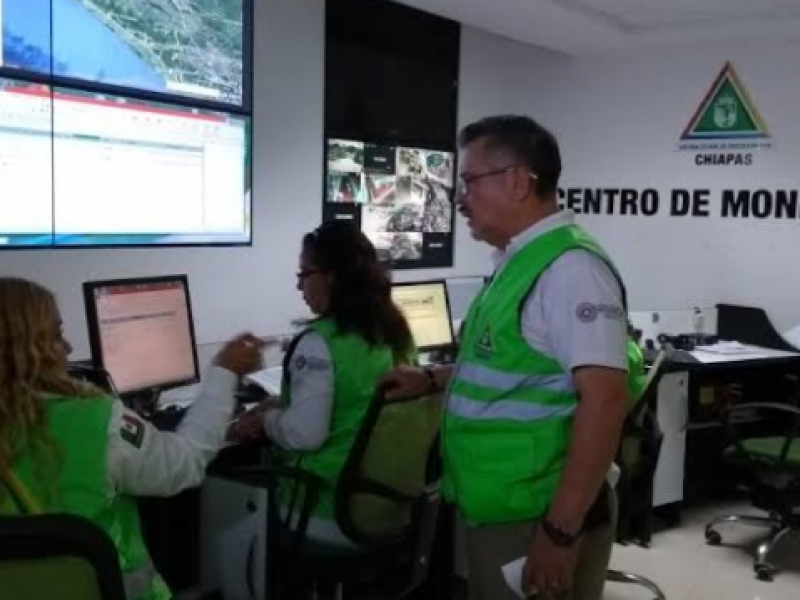 PC alerta altas temperaturas en Chiapas
