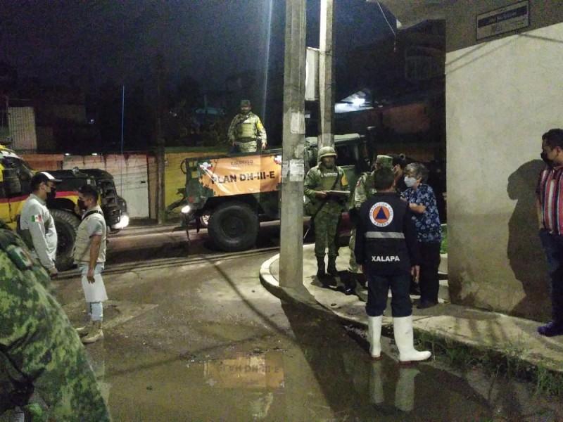 PC evalúa daños causados por sismo en Xalapa