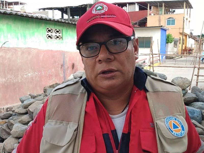 PC Petatlán salvaguarda familias en alto riesgo
