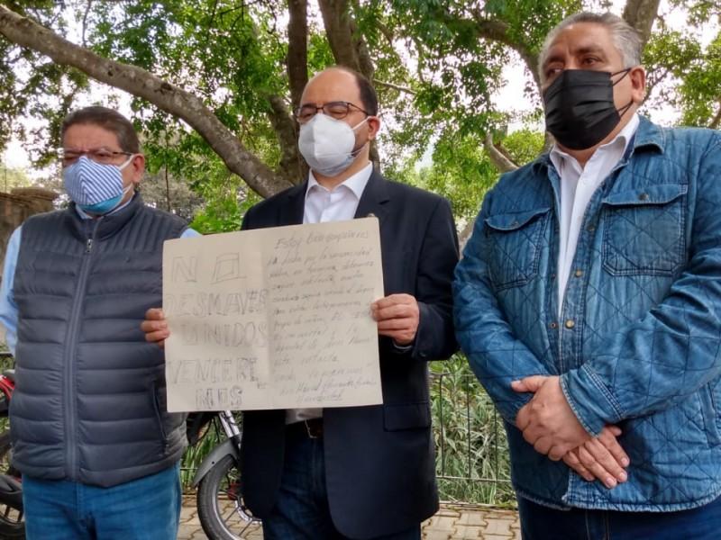 Pedirá senador Álvarez Icaza audiencia con el Gobernador