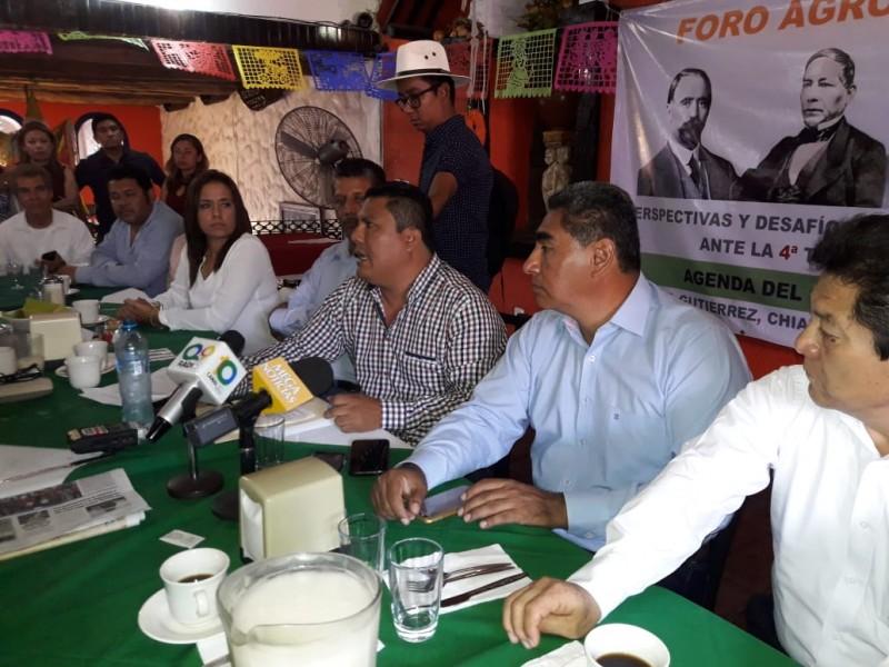 Pedirán a AMLO políticas para el campo organizaciones