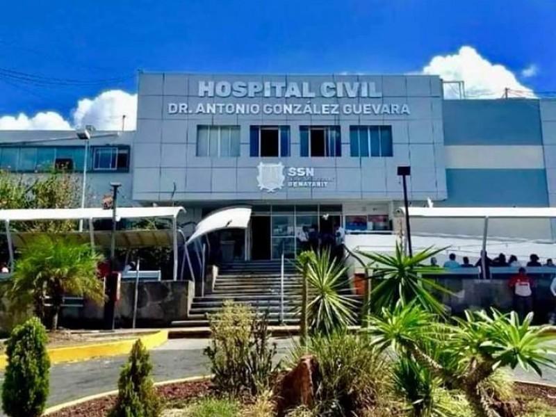 Pedirán a AMLO que visite el hospital civil