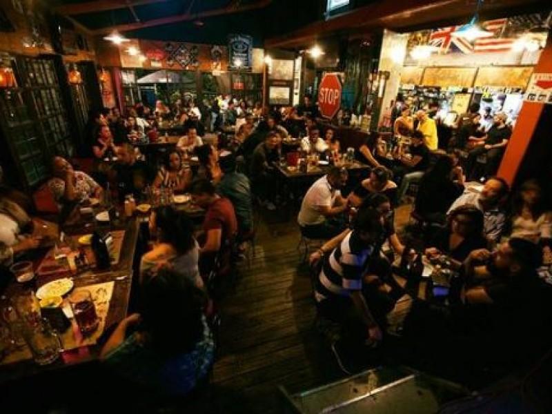 Cierran 50% de bares y restaurantes en Jalisco por pademia