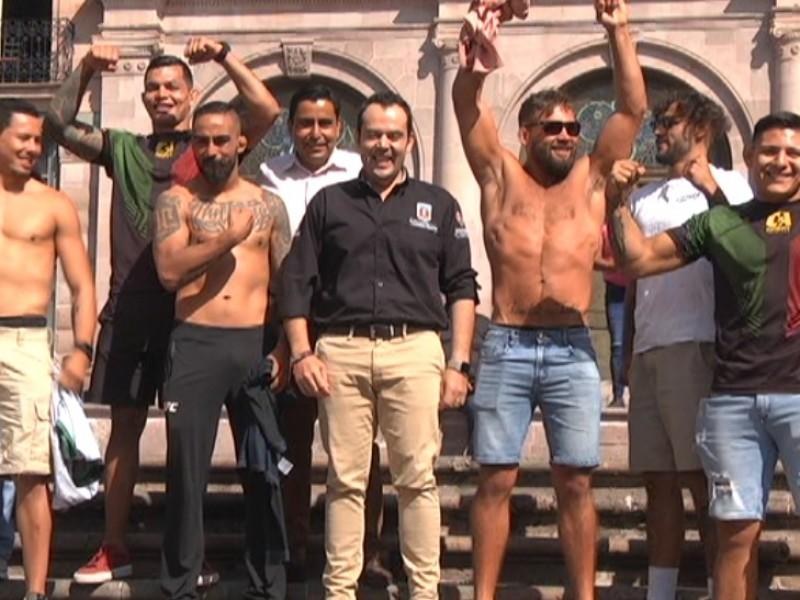Peleadores de la UFC entrenarán en Zacatecas