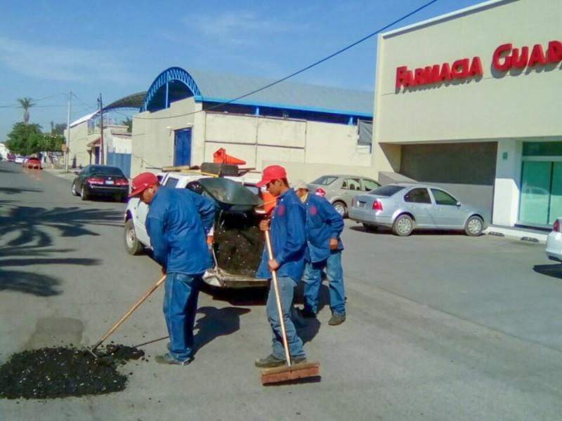 PEMEX donarà a Navojoa 120 toneladas de asfalto