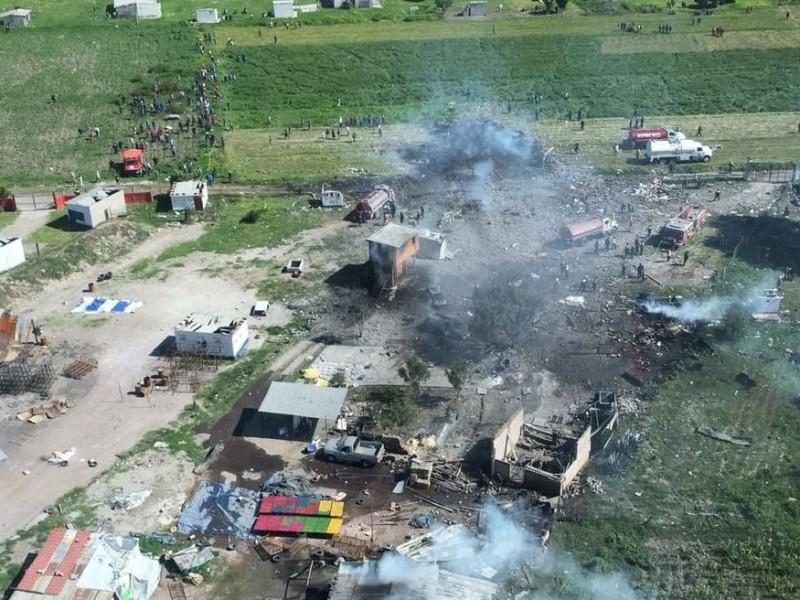 Peña lamenta pérdida de vidas por explosión