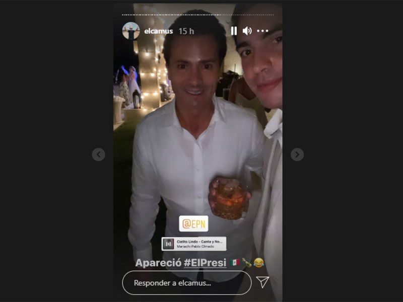Peña Nieto asiste a boda en República Dominicana