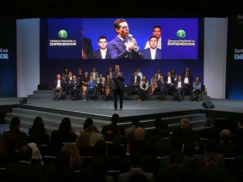 Peña Nieto inaugura Semana Nacional del Emprendedor