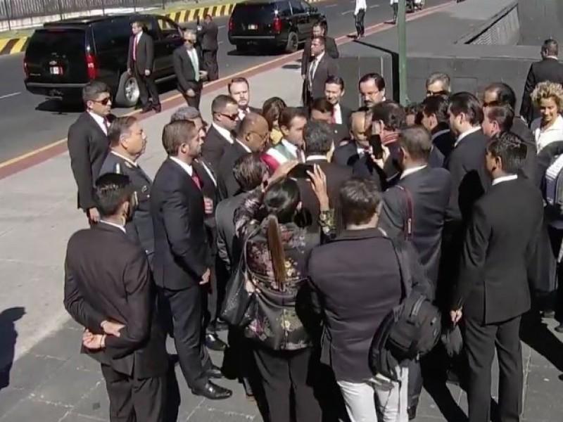 Peña Nieto llega a Palacio Legislativo