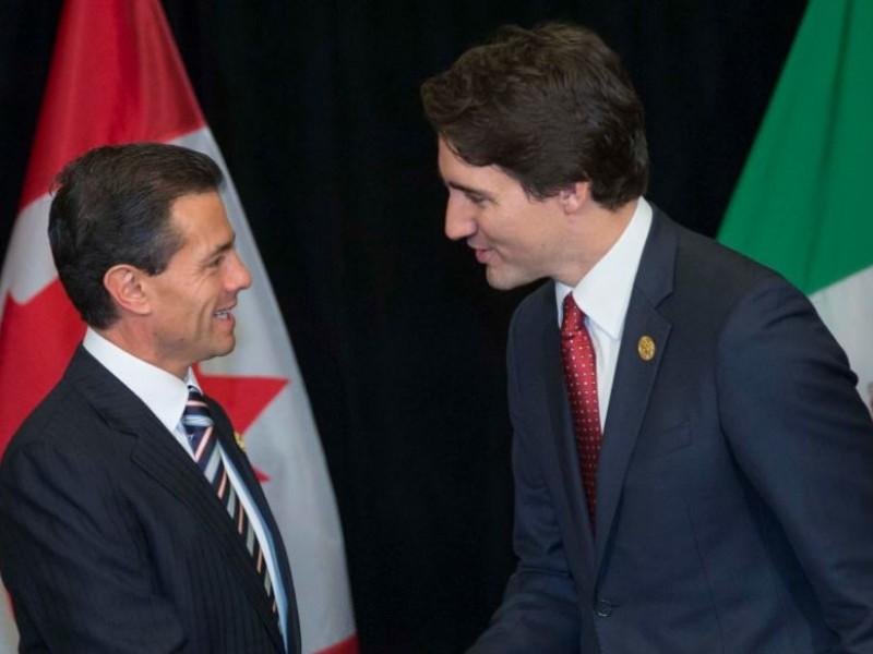 Peña y Trudeau hablan sobre medidas ante aranceles