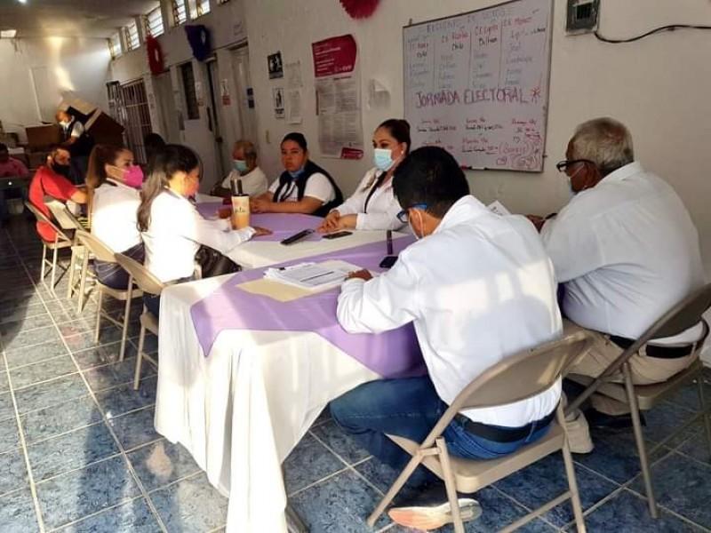 Pendientes de concluir cómputos en 6 municipios de Michoacán