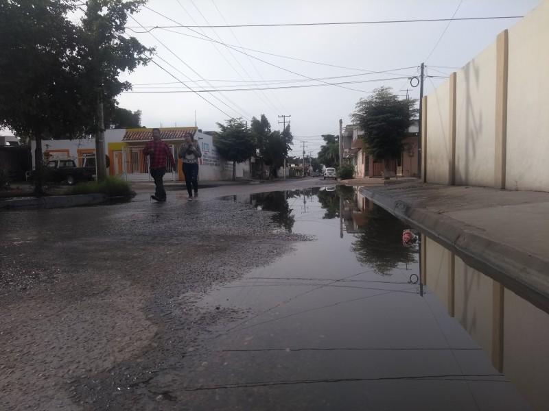 Peor que otros días, amaneció la calle Tlaxcala