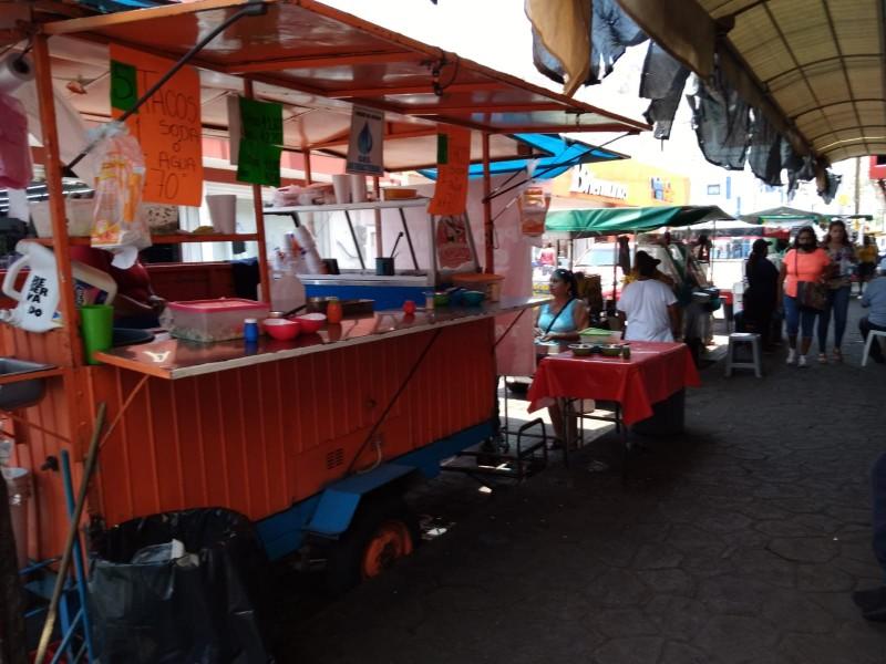 Pequeños comerciantes temen por extorsiones y cobros de piso