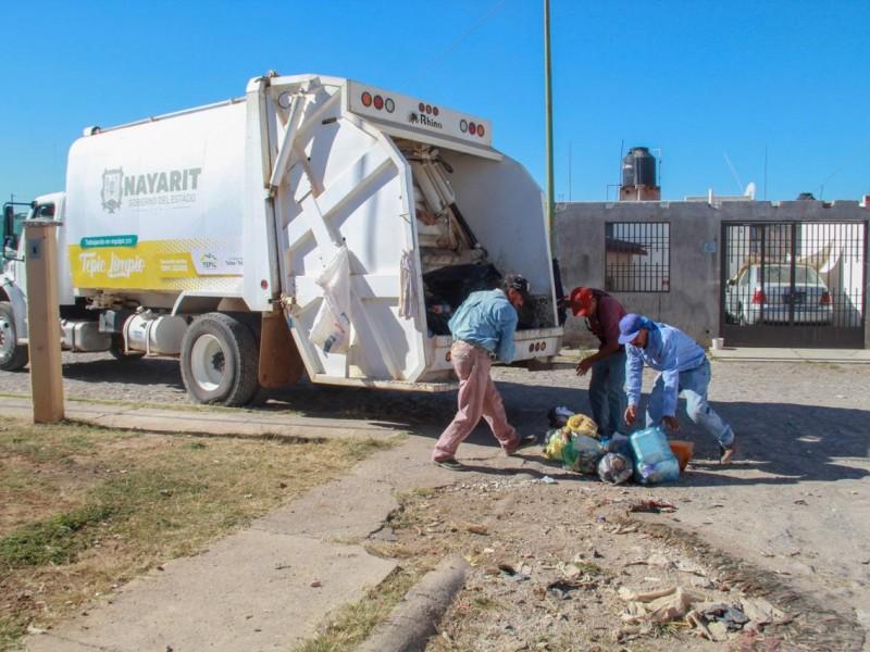 Perciben autoridades mejora en recolección de basura