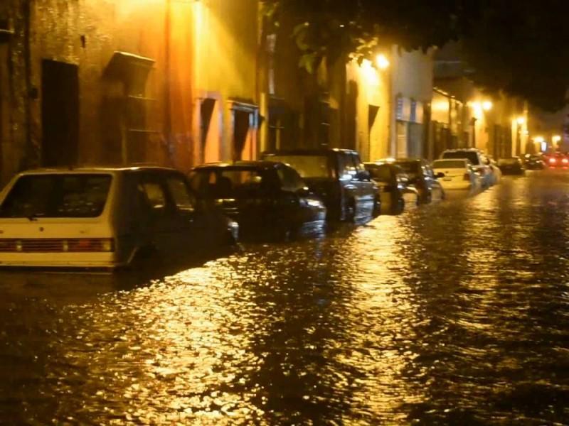 Pérdidas materiales debido a las lluvias