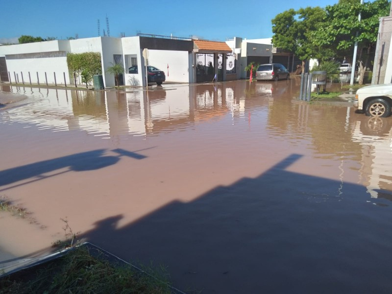 Pérdidas materiales e inundaciones deja el paso de