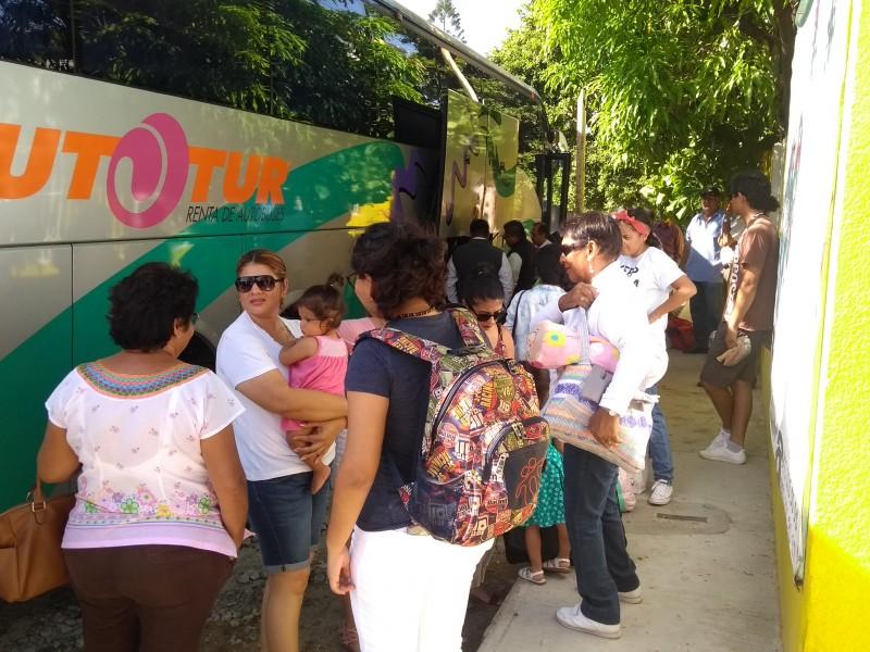 Peregrinos inician caravana a la basílica de Guadalupe