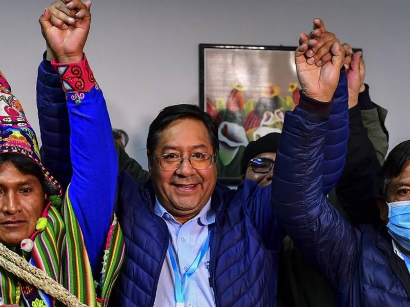 Perfilan triunfo de Luis Arce en Bolivia