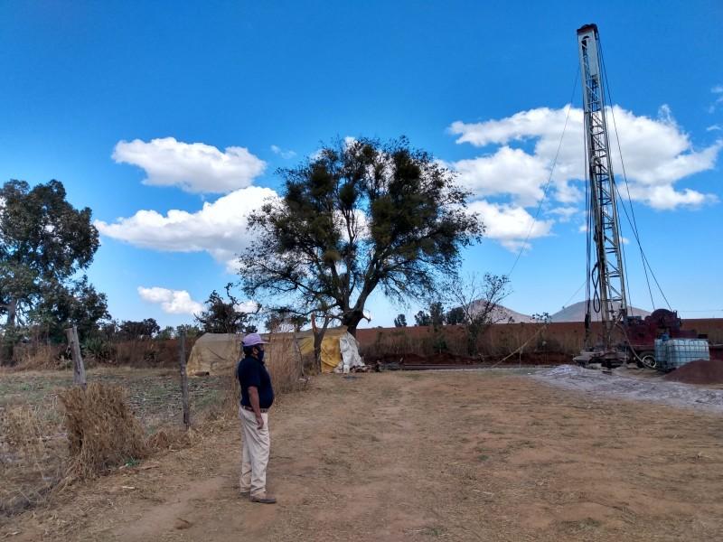 Perforan pozo para dotar de agua potable a comunidad indígena