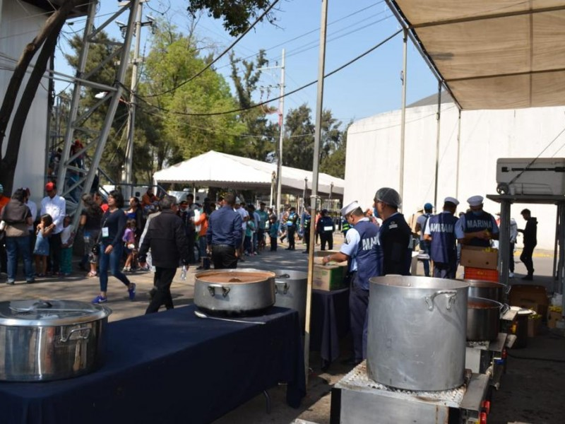 Permanecen 420 migrantes en CDMX