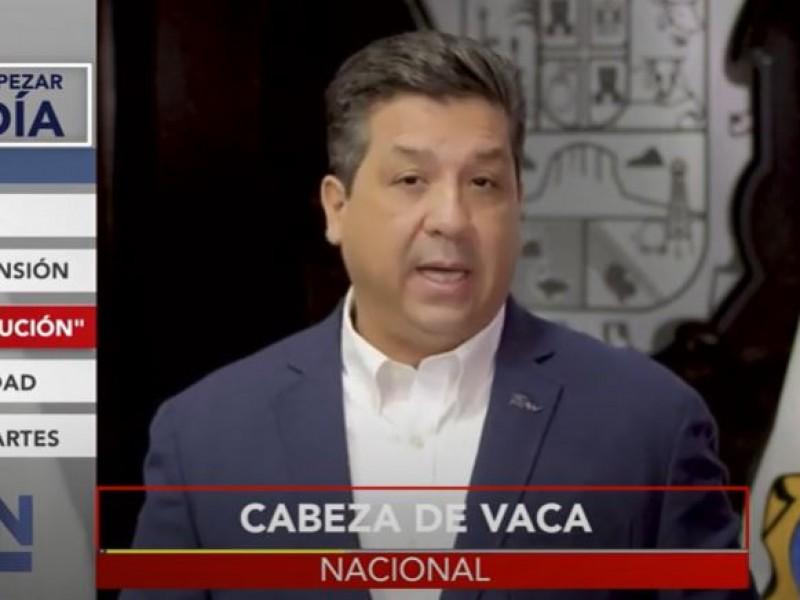 Persecución políticas desde Palacio Nacional, denuncia García Cabeza de Vaca