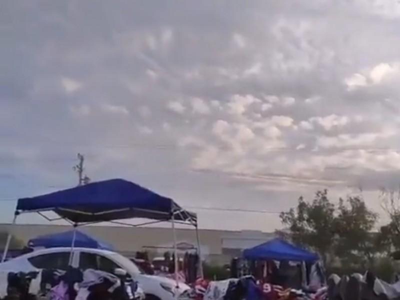 Persecución y balacera causa pánico en Matamoros, Tamaulipas