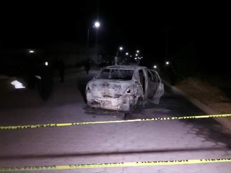 Persecución y balacera deja un calcinado en Tlachichuca