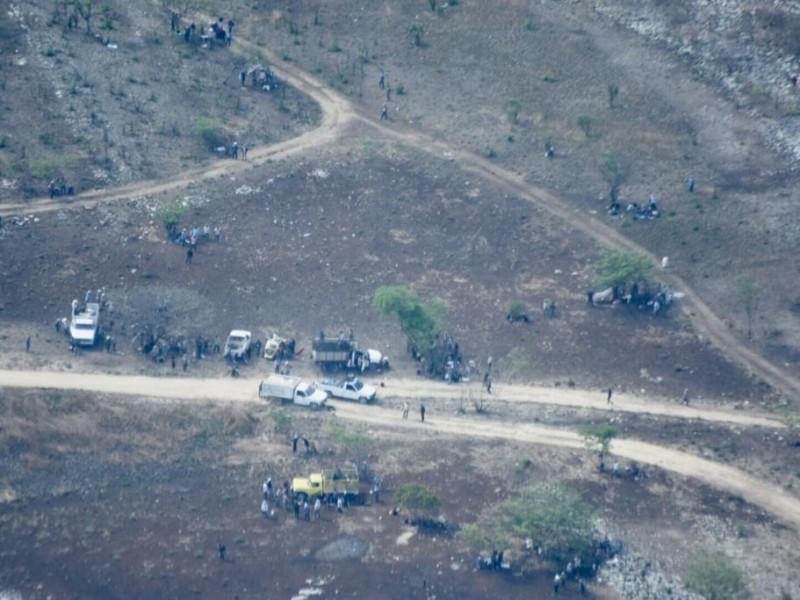 Persiste conflicto agrario en Carranza, hay dos retenidos