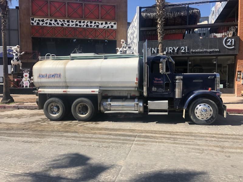 Persiste la falta de agua en Cabo San Lucas