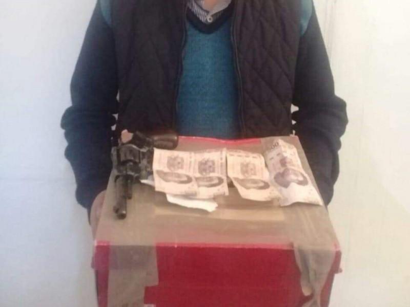 Persona detenida por extorsión en SCLC