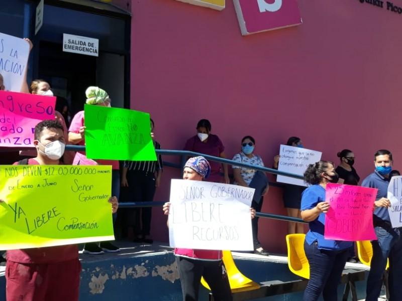 Personal del HPS exigen su compensación salarial
