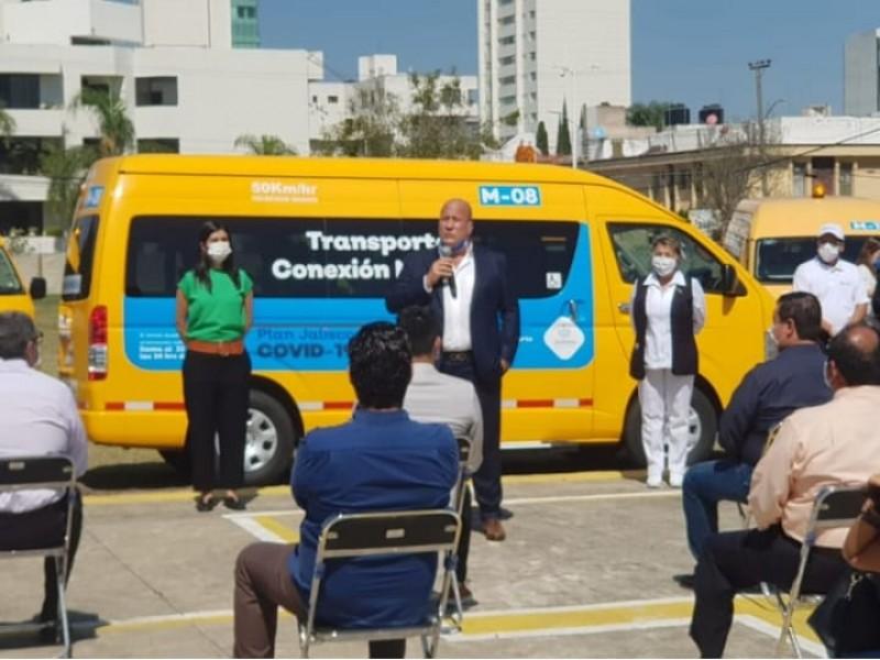 Personal médico en Jalisco tendrá servicio de transporte gratuito