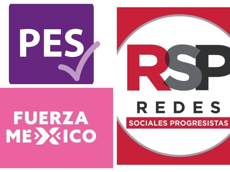 PES, Fuerza por México y RSP perderían registro