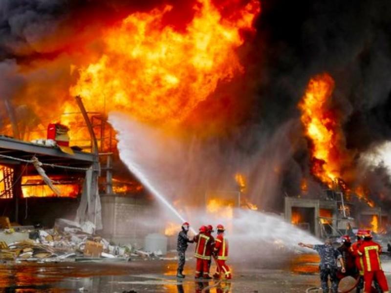Pesadilla sin fin: un nuevo incendio alarma a Beirut