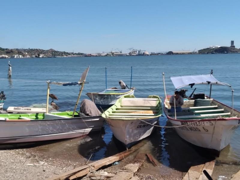 Pescadores agradecen no haber salido a la pesca por mala temporada