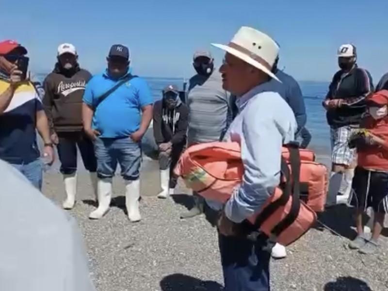 Pescadores consideran en riesgo Punta Belcher tras posible proyecto turístico