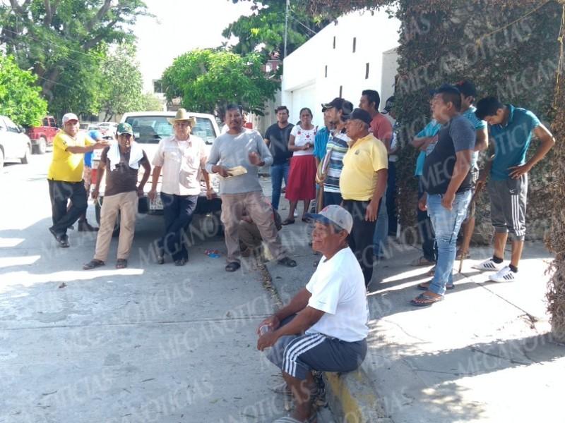 Pescadores de Juchitán protestan contra Eólica del Sur