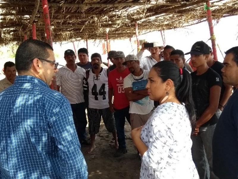Pescadores solicitan permisos para acceder a fideicomisos