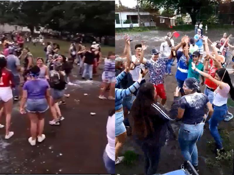 Pese a contingencia celebran topaderas en Chapalilla