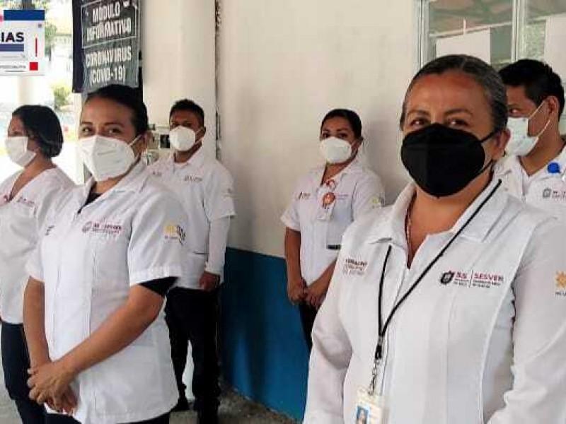 Pese a contingencia por Covid19, vacunadores no bajan la guardia