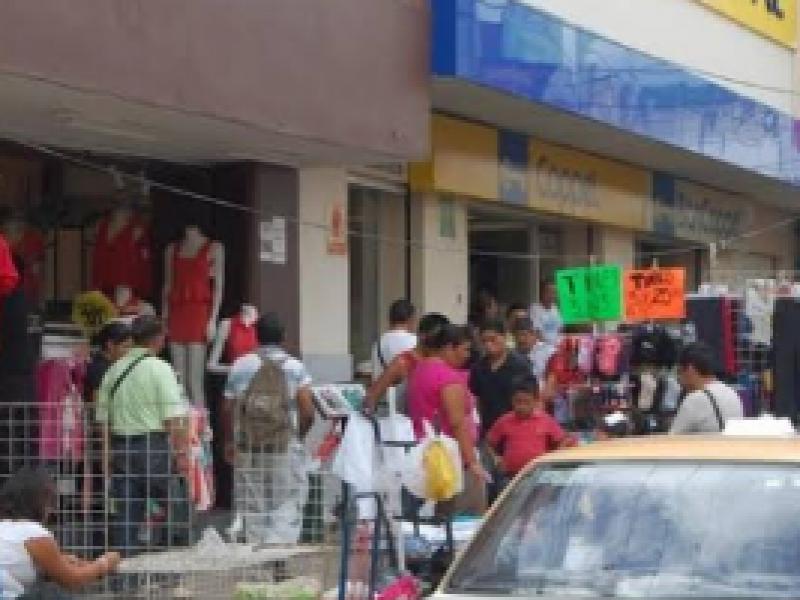 Pese a contingencia prevalece comercio informal en Tuxtla Gutiérrez
