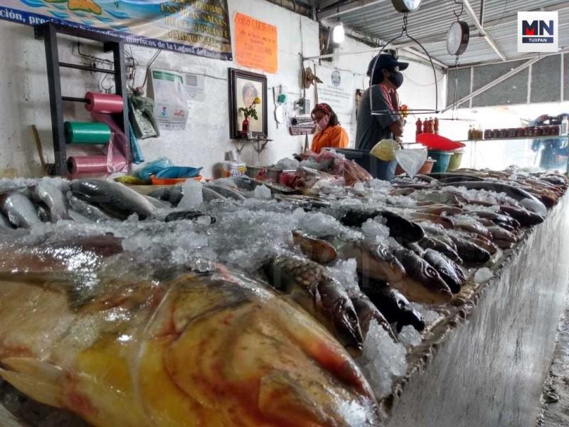 Pese a Cuaresma, no hay demanda de pescados y mariscos